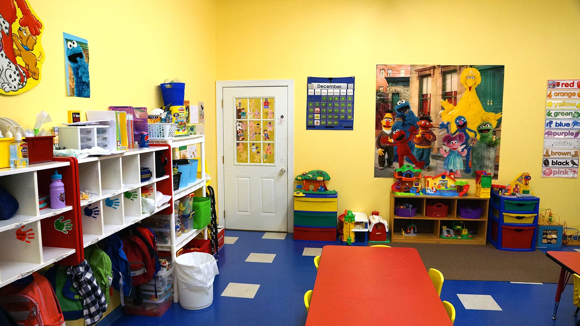 Colorful Classrooms